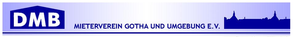 Logo des Mieterverein Gotha und Umgebung e.V. / Deutscher Mieterbund